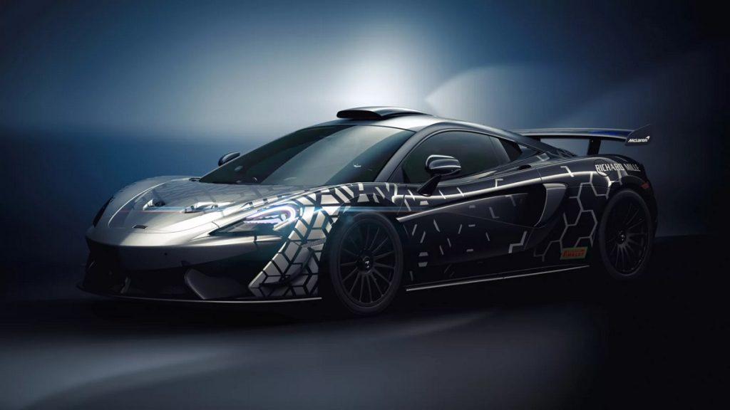 This McLaren Is Barely Street Legal
