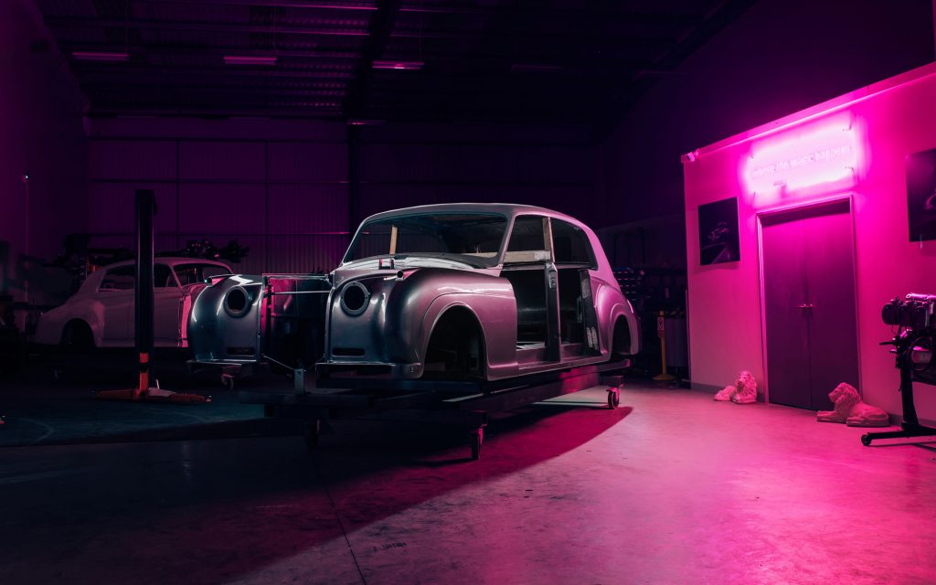David Beckham Is Upcycling Classic Cars Into Electric Vehicles?